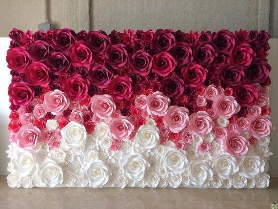 Best 25 Flower Backdrop Ideas On Pinterest Paper Flower
