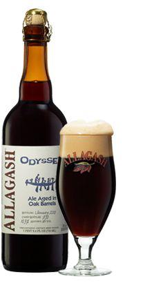 VT trip beer: Allagash Odyssey (Belgian-style dark wheat beer aged in oak barrels) Meg Loves this