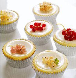 Roomkaas Cupcake met Zure Room Topping maken