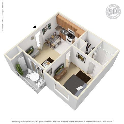 Atlanta, GA Townview Station Floor Plans | Apartments in Atlanta, GA - Floor Plans
