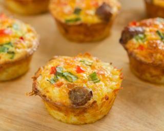 Muffins aux légumes divers
