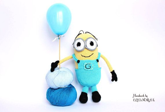 Minion amigurumi toy / doll crochet gift for by ILoveAmigurumi