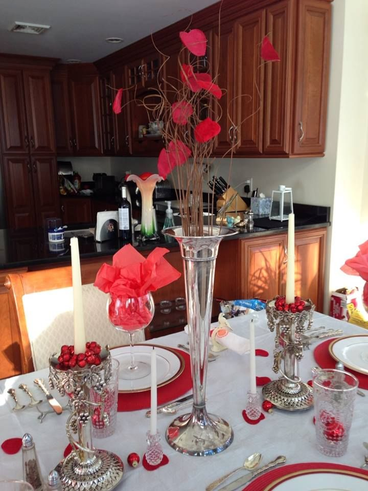 reindeer pole bound yet if you thrifty valentine s day tablescapes and