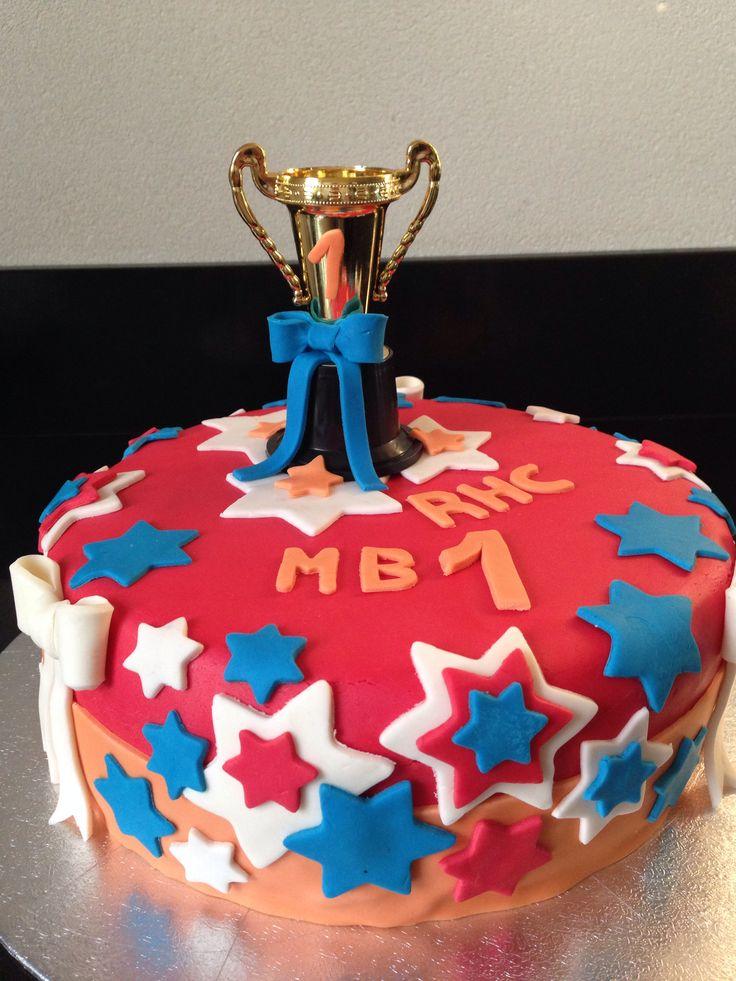 Taart voor de kampioenen MB1!