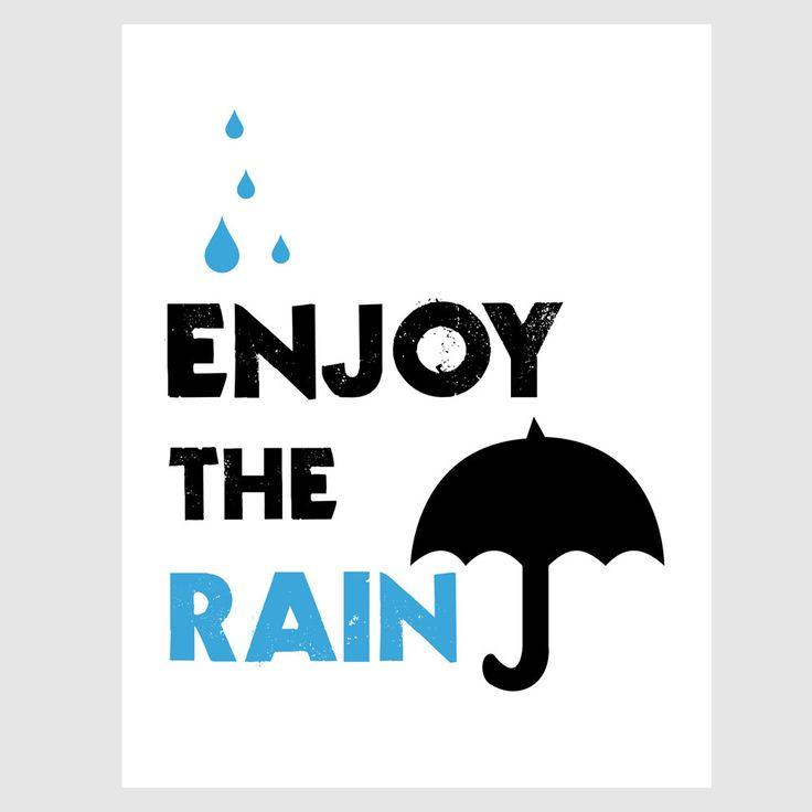 enjoy the rain :)