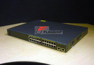 Cisco WS-C2960-24LT-L 24-Port Switch w/ 8-Port PoE 2960