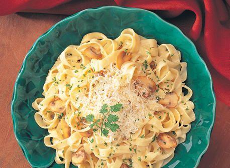 Fettucine Carbonara recipe | Dairy Goodness