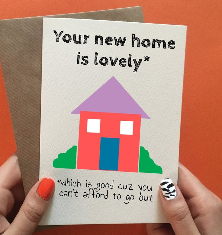 funny new home card