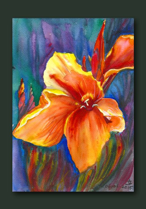 watercolor.Original by Joanna Lazuchiewicz 2015