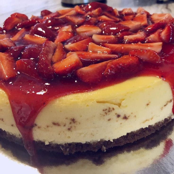 Today weve added our new Strawberry Cheesecake to the cabinet made fresh and with lots of love