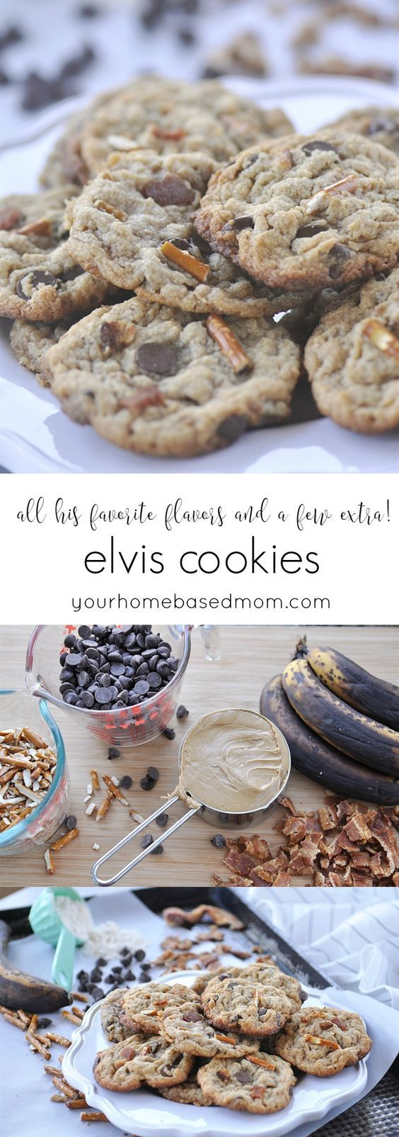 Elvis Cookies - all his favorite flavors and a few extras
