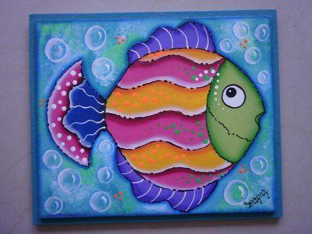 Cuadros artesanales mundo marino los salias objetos for Cuadros con peces