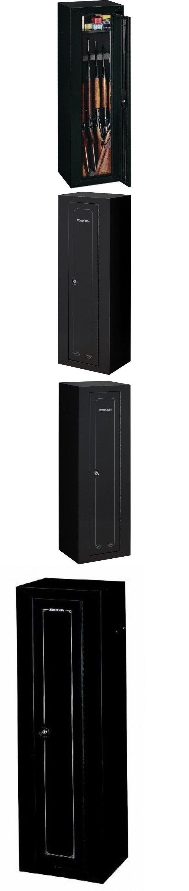 Cabinets and Safes 177877: Gun Cabinet Black 10 Gun Storage Steel Secure Locker W Shelf Rifle Shotgun 52 -> BUY IT NOW ONLY: $159.99 on eBay!