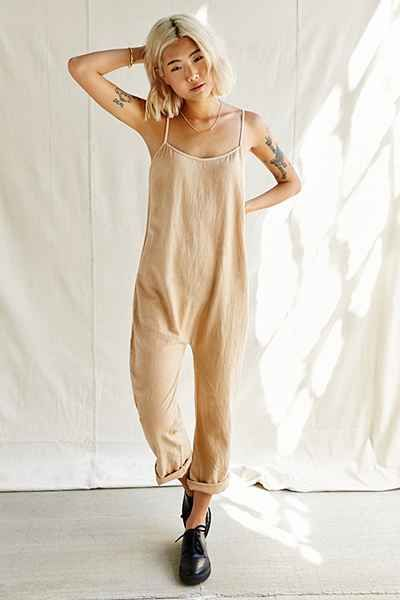 Urban Renewal Remade Super Gauze Dropped Jumpsuit - Urban Outfitters