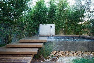 Mozart 3.0 - modern - pool - san diego - Falling Waters Landscape