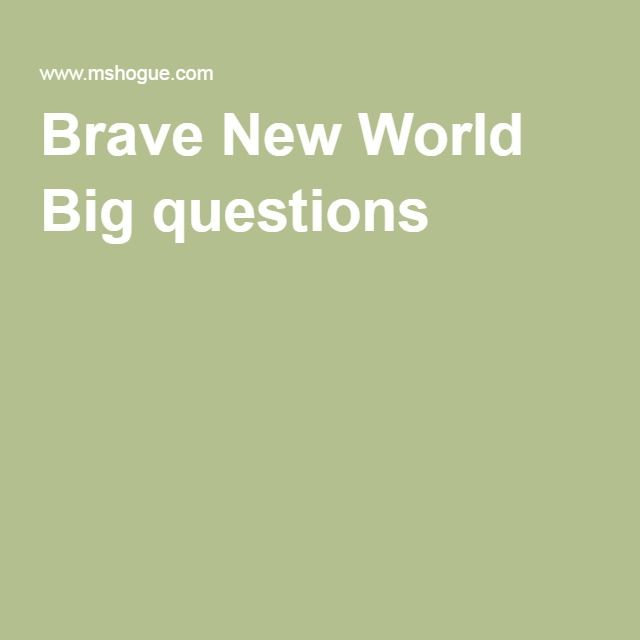 brave new world an outsider in Brave new world aldous huxley's brave new world is a fictitious story about a future utopian society where people are mass-produced in laboratories people have no emotions in this world where drugs and promiscuous sex are greatly encouraged.