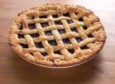 Vegan Homemade Blueberry Pie