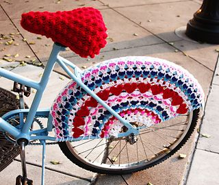 Crochet bike   >   The ONLY time I wish I lived down the mountain is when I want to go biking...