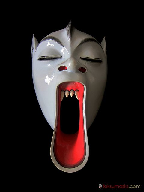 Topeng Mask by taksumasks, via Flickr