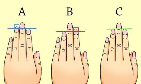 指の長さで分かる性格判断が、「すごく当たる!」と海外で話題になってます! その方法は、たった3本の指の長さを見るだけで、あなたの性格が分かっちゃうカンタン