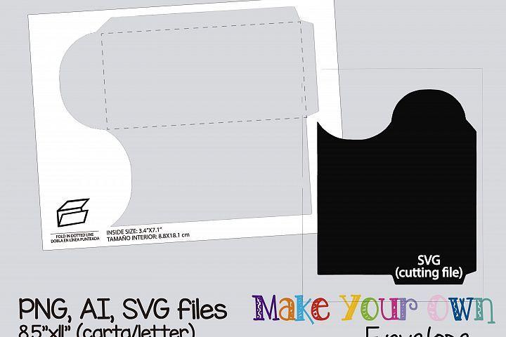 Download Envelope Template Collage Sheet Template Digital Template Collage Template Printable Template Collage Digital Png Ai Svg