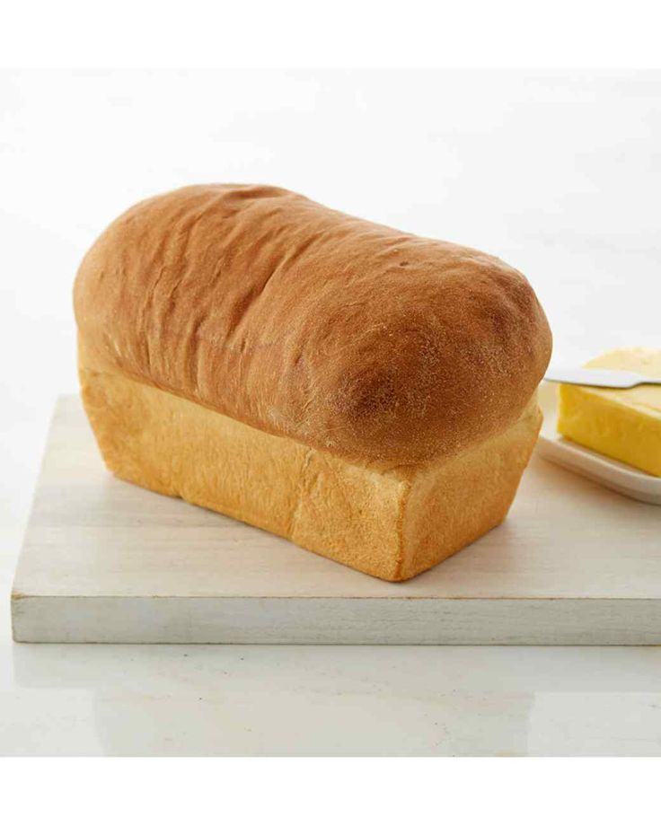 Japanese-Style White Bread - This traditional Japanese-style bread, also known as Japanese milk bread, has a soft, buttery texture.
