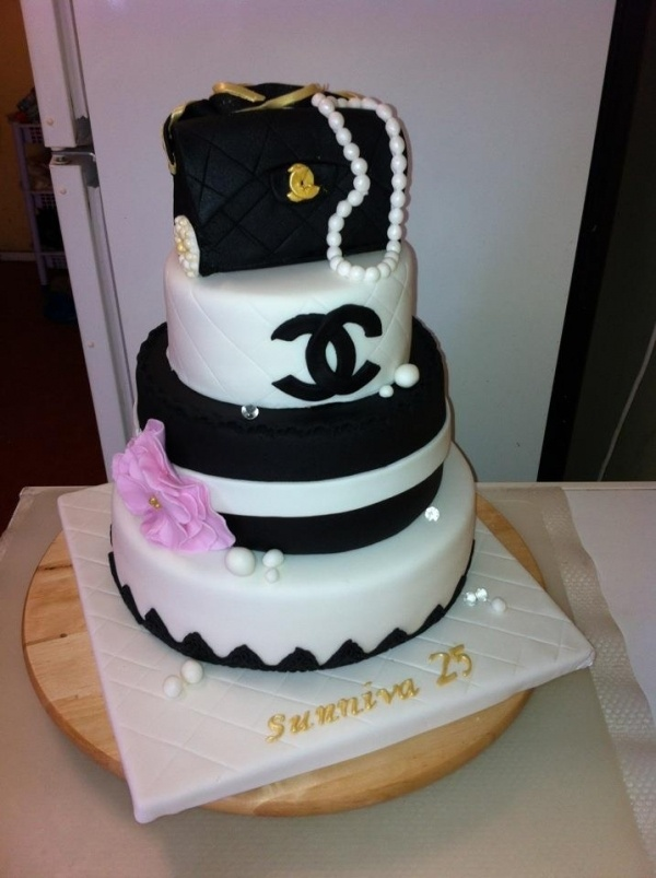 Birthday Cake Pictures Chanel : Chanel Cake #chanel #cake #birthday www.lachanelphile.com ...