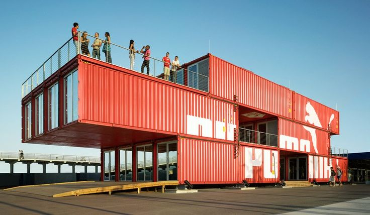 44 Must-See Shipping Container Homes and Structures - Archute Who Else Wants Simple Step-By-Step Plans To Design And Build A Container Home From Scratch? http://build-acontainerhome.blogspot.com?prod=4acgEAsP