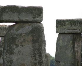 Stonehenge Close Up - stock photo