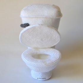 Toilet 2 - free crochet pattern