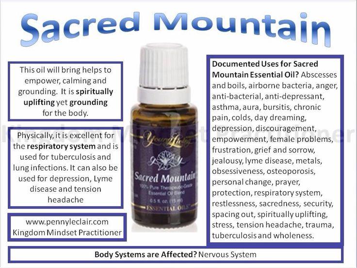 Sacred essential oils