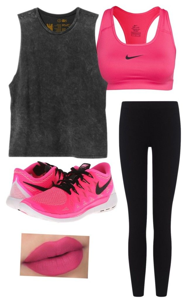 """""""Thx for the 200 followers❤️"""" by juliannel ❤ liked on Polyvore featuring NIKE, RVCA and James Perse"""