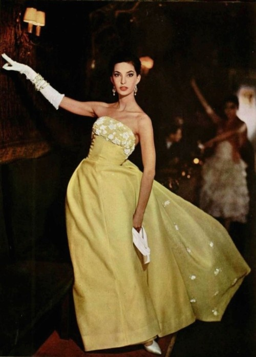 Dress by Jean Patou 1958.
