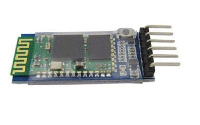 5pcs DIY 6pin JY-MCU Anti-reverse Wireless Integrated for Arduino HC05 HC-05 Master-slave Bluetooth Module With Base Plate DIY