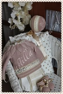 1000 images about canastilla en pinterest patrones - Canastilla artesanal bebe ...