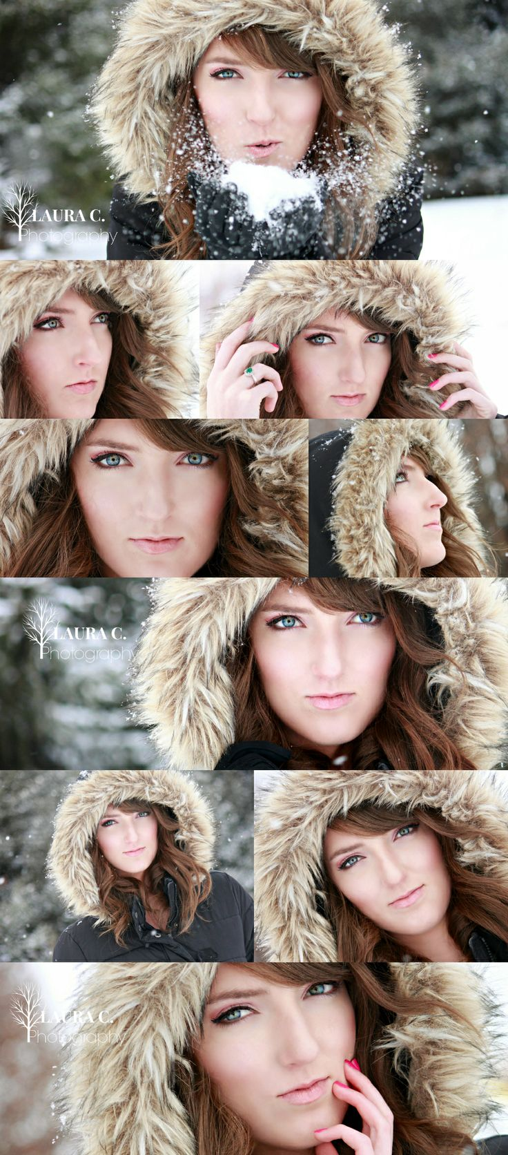 Erin by Laura C. Photography 2013 | Winter photo shoot | Winter pictures | Winter Senior Poses