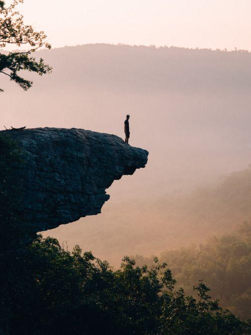 Hawksbill Crag, Arkansas.www.americayall.comshot on: olympus...