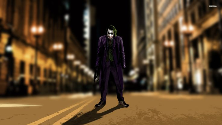 """""""This city deserves a better class of criminal. And I'm gonna give it to them"""""""