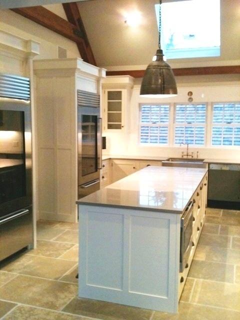 East Hampton Barn Home Kitchen.