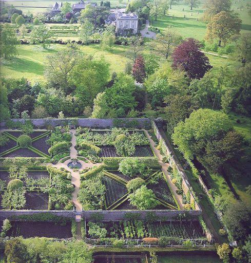 Walled Kitchen Garden Design