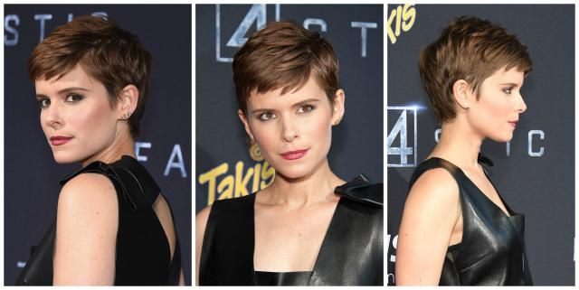 The pixie is one of the hottest hairstyles of the moment. See which cuts are most popular and which face shapes and hair textures work with a pixie.: Kate Mara's Perfect Piecey Pixie