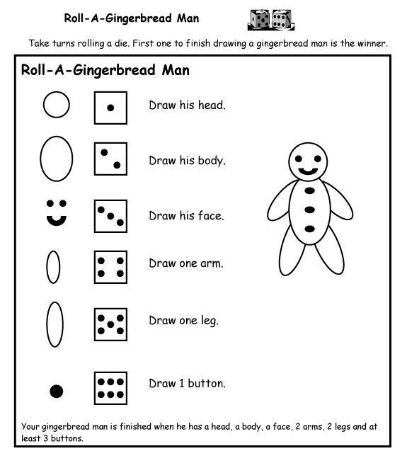 44 best images about PreK Gingerbread Man on Pinterest | Pocket ...