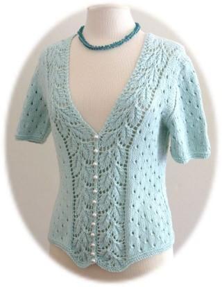 K664-Diana Top (Knitting-Intermediate)