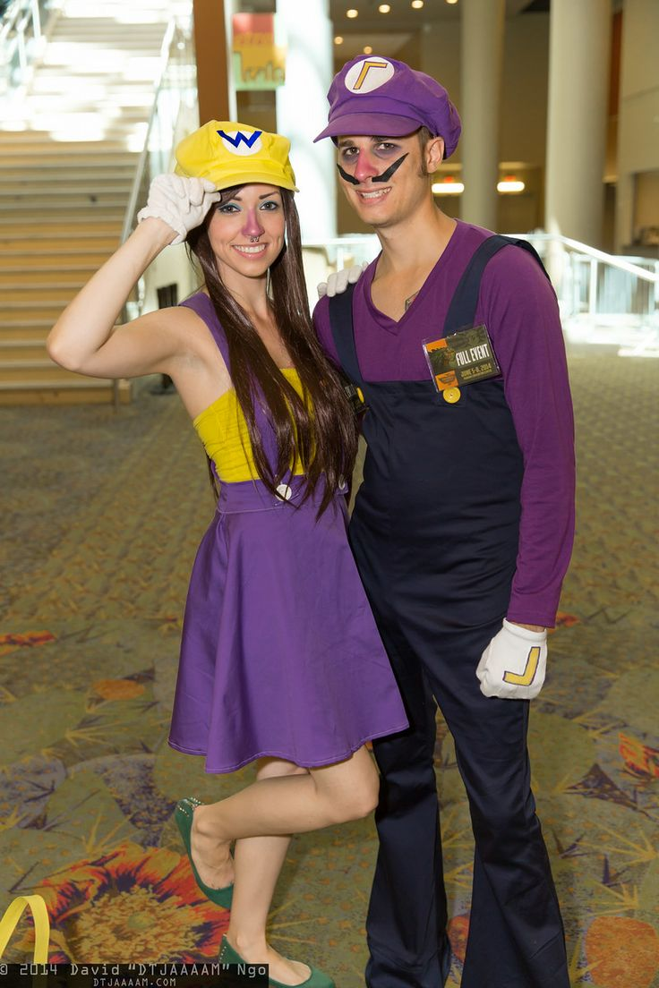 Wario and Waluigi - Phoenix Comicon 2014 | COSPLAY ...Waluigi And Wario Costumes