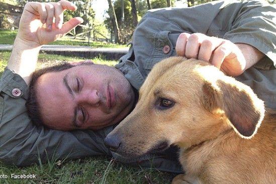 """Conmovedora carta de despedida de una perrita a su amo. Al """"papá"""" de esta perra rescatada de la calle lo mataron por robarle su bicicleta. http://www.kienyke.com/tendencias/conmovedora-carta-de-despedida-de-una-perrita-su-amo/"""