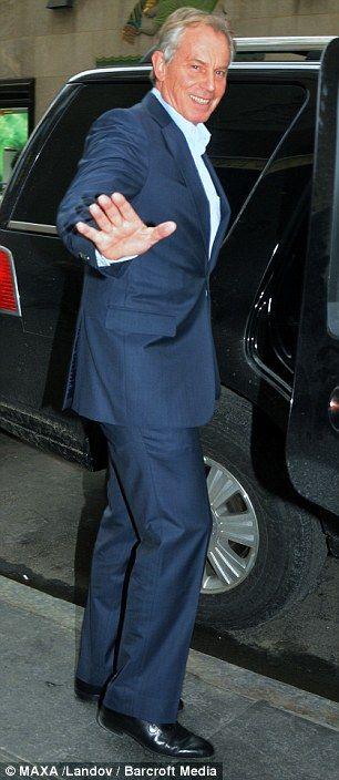 Former Prime Minister Tony Blair British Prime Minister 2007-2010