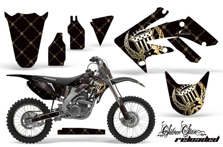 Honda CRF250R 2004 2012 Motocross Graphic Kits With The Largest Selection Of Designs And Colors