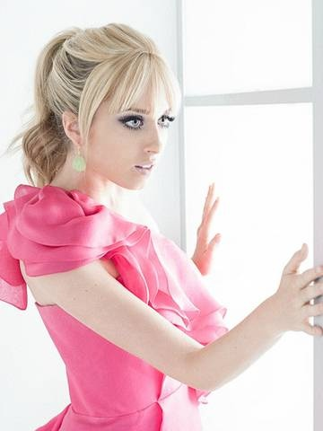 Megan Park (The Secret Life of the American Teenager) looks pretty in pink and our Tear Drop #Earrings.