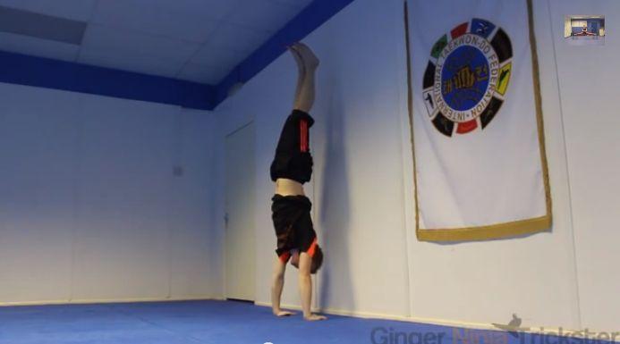 Stå på händer | Bra träning för axlar och core
