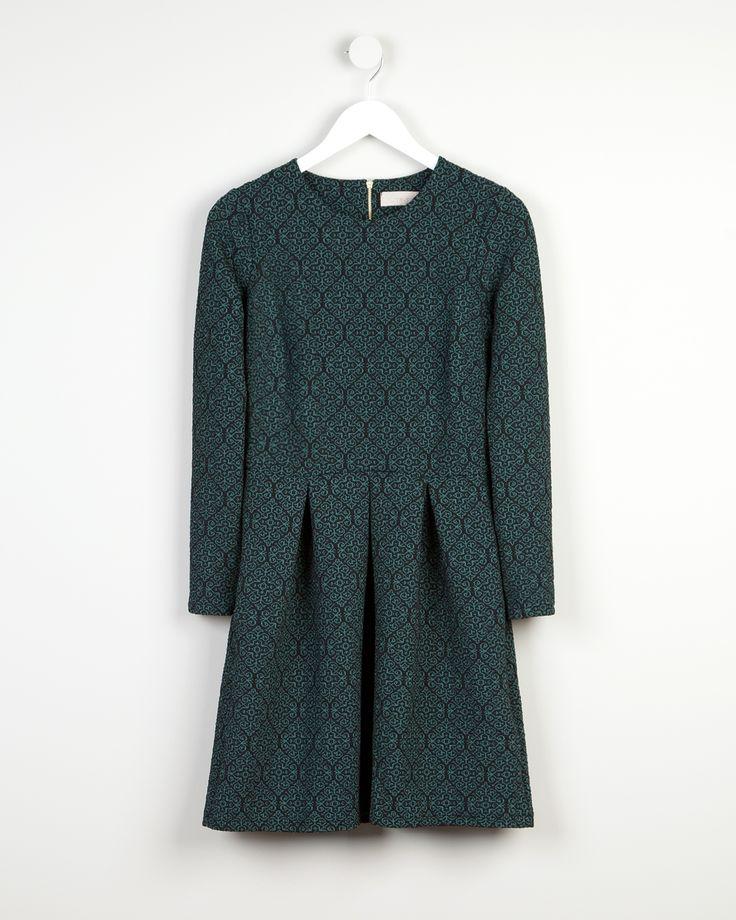 Jacquard printed dress http://bit.ly/10VexkJ Vestido estampado jacquard http://bit.ly/10YD1Kj